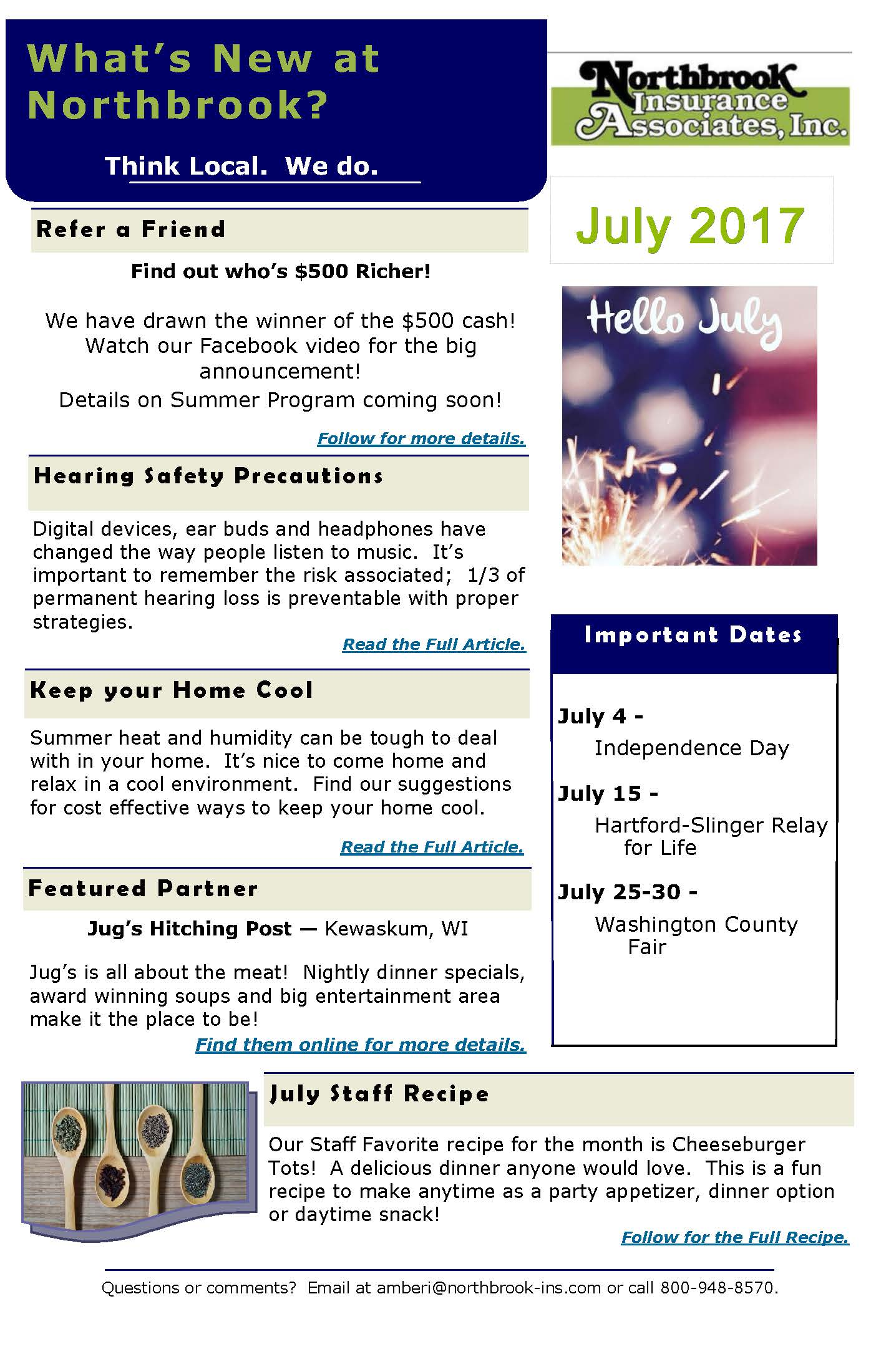 July-2017-Newsletter